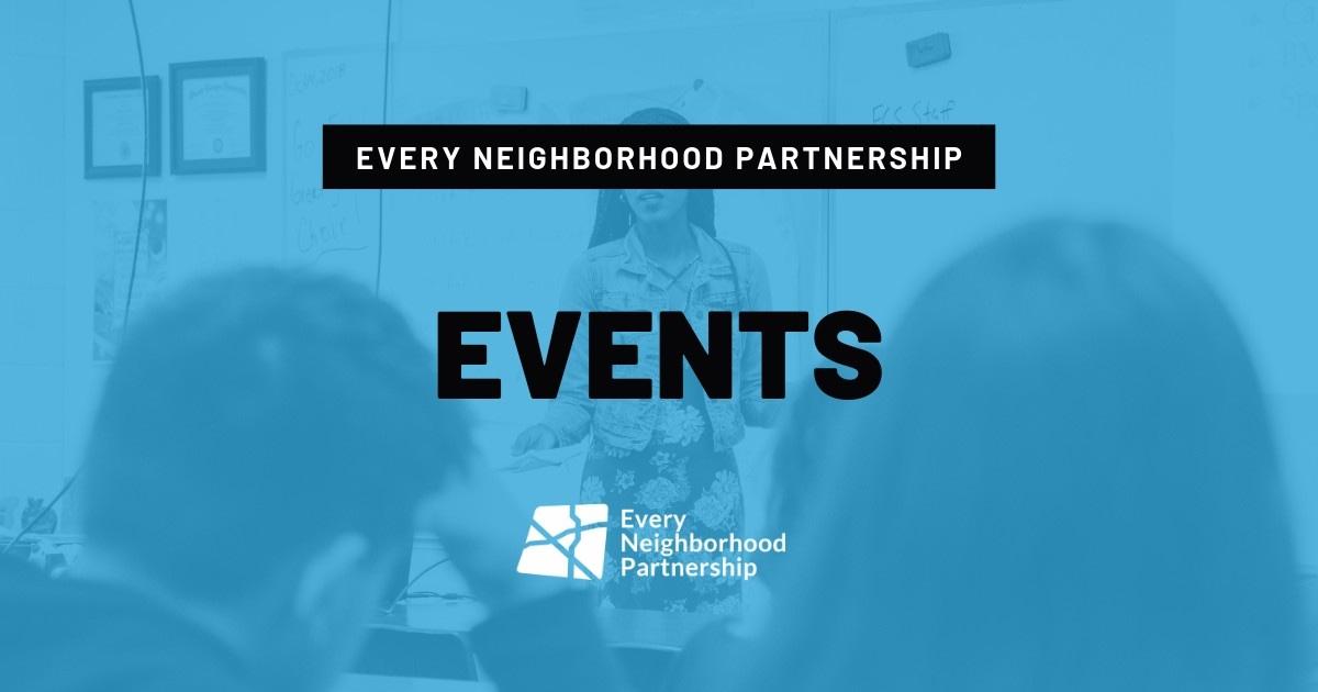 Events Calendar - Every Neighborhood Partnership (ENP) - Fresno